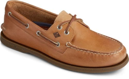 Sperry Authentic Original Leather Lace Mens Shoes Nutmeg